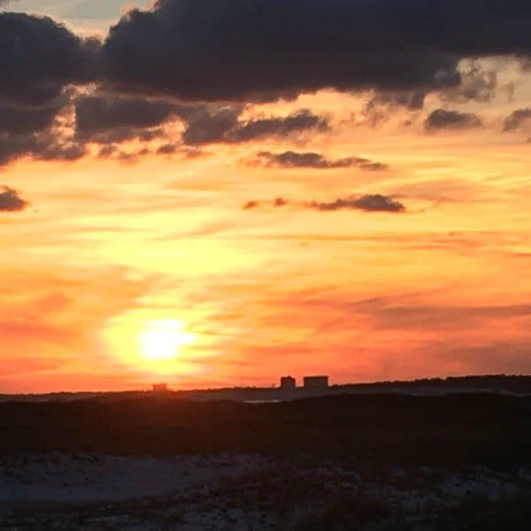 Gulf Islands National Seashore: Fort Pickens at sunset