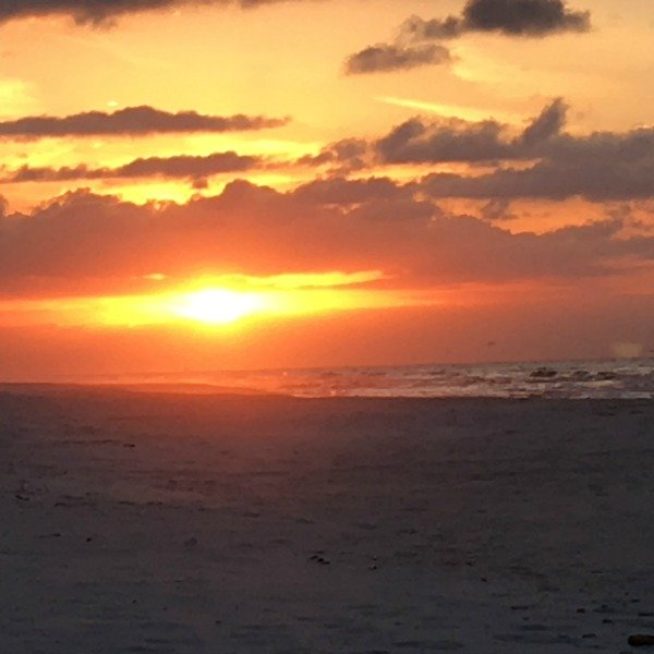 Gulf Islands National Seashore: Fort Pickens and sunrise.