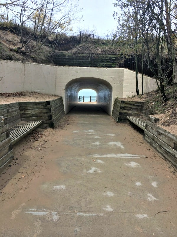Tunnel Park found in the Holland, Michigan area.