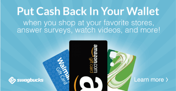 Try Swagbucks to earn gift cards doing things you already do! | Snail Pace Transformations