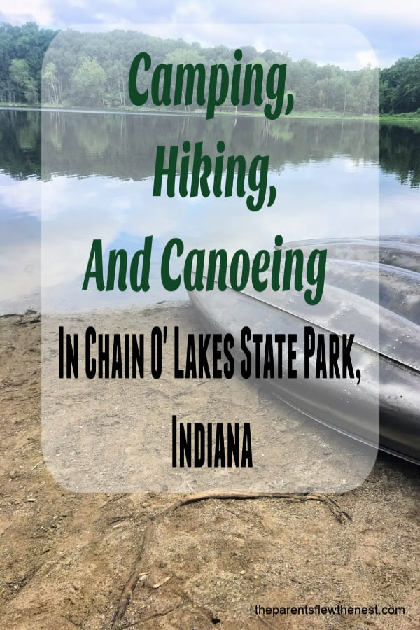 Chain O' Lakes State Park, Indiana: great place to hike, camp, and canoe. #Indiana #hike #camp