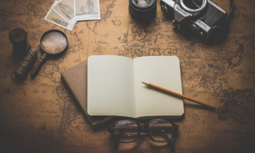 Help your hiker record their adventures--buy them a travel journal as a gift.