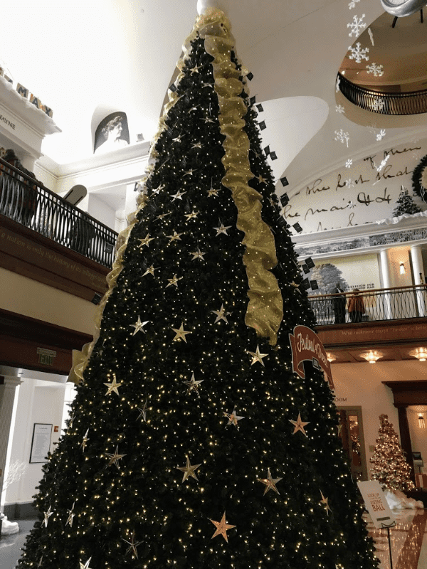 The Festival of Trees makes a great Indianapolis date day stop during Christmas time.