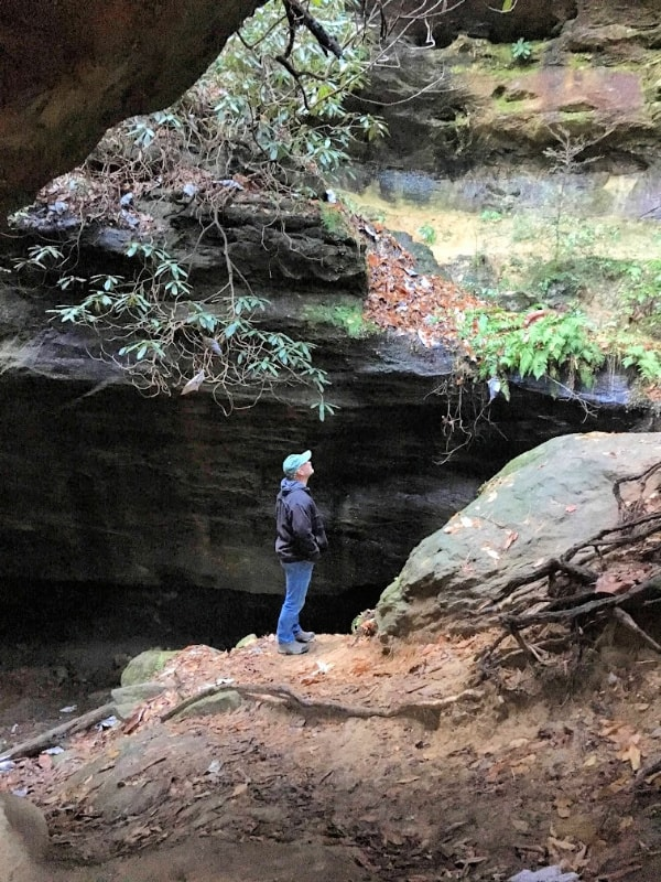 Silvermine Arch Trail--Red River Gorge Area KY.