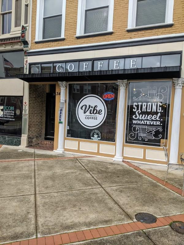 Vibe Coffee, Elizabethtown, KY.