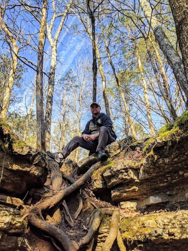 Cedars of Lebanon State Park--just outside Nashville.
