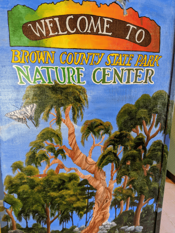 Brown County State Park nature center, Indiana.