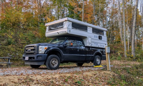 Apps for road trips that are handy for finding a place to camp.