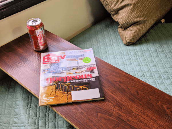 Packing Hacks For Truck Campers: downsize items like packing a table just big enough for what you need.