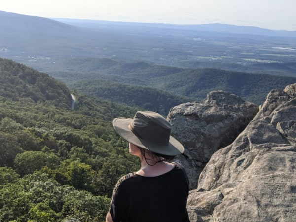 Blue Ridge Parkway Virginia Hikes: Enjoying The View from Humpback Rocks