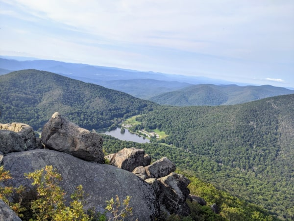 Blue Ridge Parkway Virginia Hikes: The Summit Views On The Sharp Top Trail