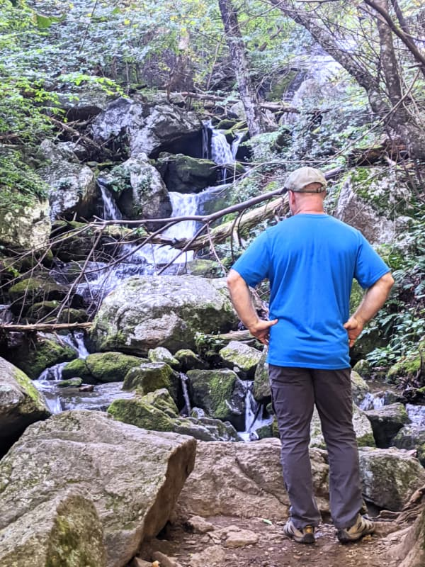 Take time to soak up the views of Crabtree Falls in Virginia as you climb your way to the top. Located a few miles off the Blue Ridge Parkway.