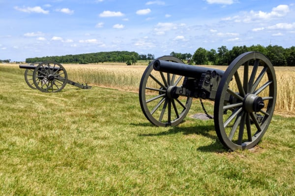 Gettysburg, Pennsylvania: There is a boondockers welcome site near here.