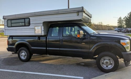 Save money on fuel costs while truck camping with these money saving gas apps.